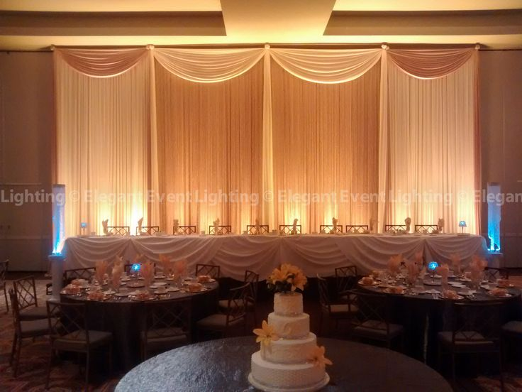 Elegant Event Lighting Chicago designed our signature Crystal Curtain Backdrop in Ivory and Gold for Amy & 17 best Drury Lane Weddings | Elegant Event Lighting images on ... azcodes.com