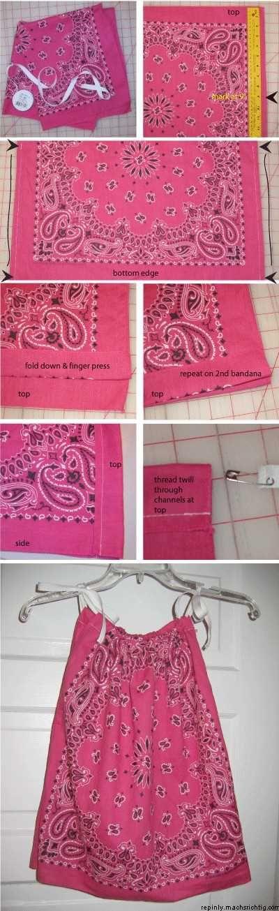 Easy Bandana Shirt