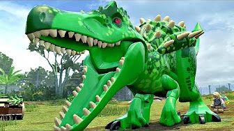 Мир Юрского Периода.Индоминус Сбежал.Игры и Мультики про Динозавров.Jurassic World#Лего - YouTube