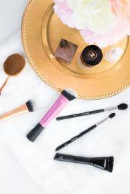 best cheap makeup brushes. Elf stipple brush, ELF contouring brush, ELF blush brush, Real Techniques Sculpting brush, Real Techniques expert face brush, real techniques buffing brush, Morphe M501, Morphe M330, Oval foundation makeup brush, Real Techniques Blush brush