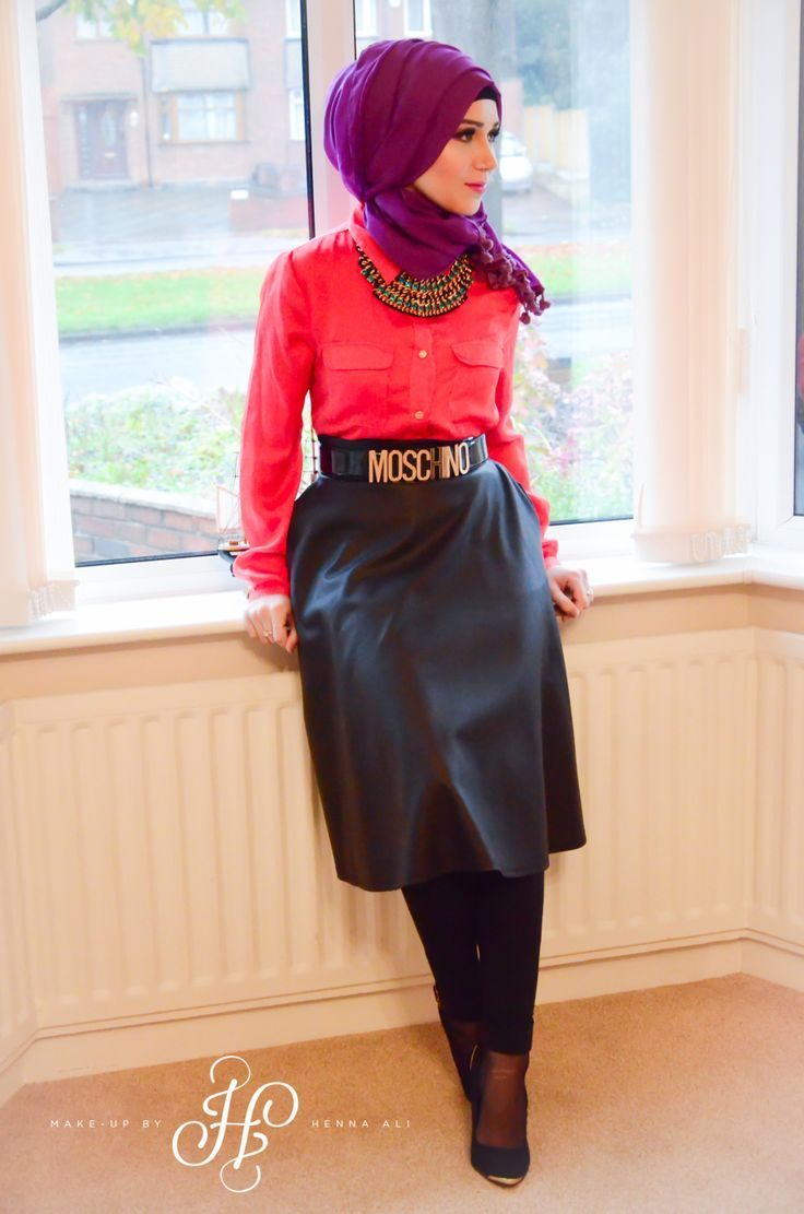 Styles to Wear Hijab with Skirts in Current Fashion - Fashion & Trend