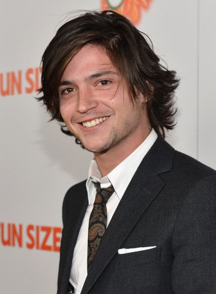 """Thomas McDonell Actor Thomas McDonell arrives to the premiere of Paramount Pictures' """"Fun Size"""" at Paramount Theater on the Paramount Studio..."""