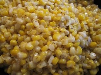 Delicious sauteed fresh corn...