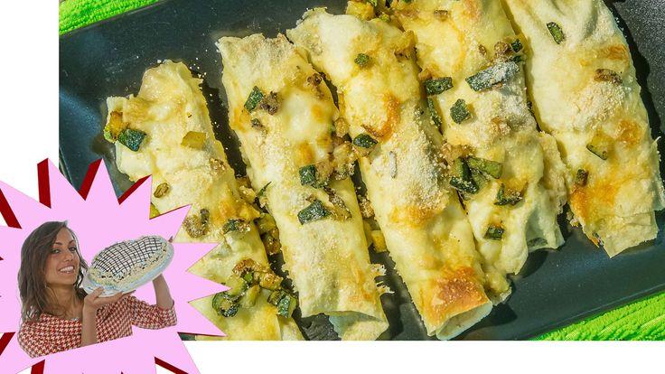 Difficile mettere d'accordo pesce e formaggio, ma in questa ricetta di Cannelloni Ripieni il matrimonio sembra perfetto! http://www.my-personaltrainer.it/Tv/...
