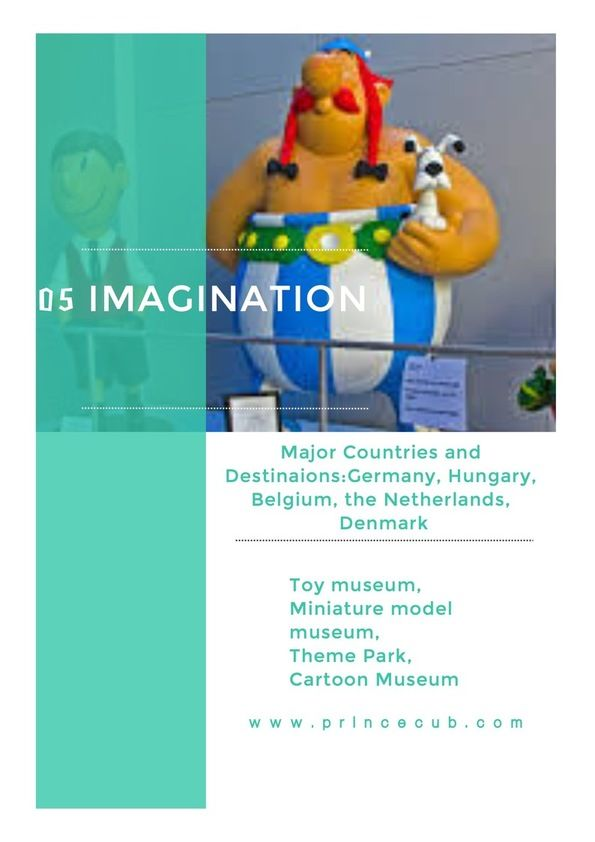 Imagination children can stem from toy museums, miniature model museums, theme parks, and of course - cartoon museums.