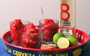 Thomasina Miers recipe: Raspberry and tequila nieve