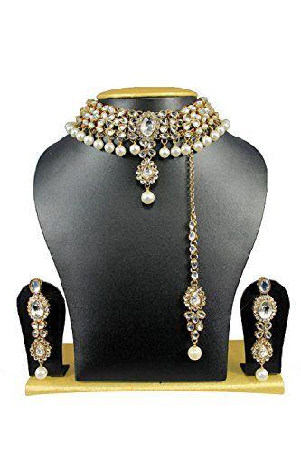Indian Bollywood Elegant Wedding Wear Women Gold Plated K... https://www.amazon.com/dp/B01N5S9I3L/ref=cm_sw_r_pi_dp_x_lSRMybBAS856T