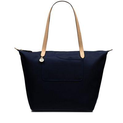 Radley Pocket essentials navy large zip-top tote bag | Debenhams