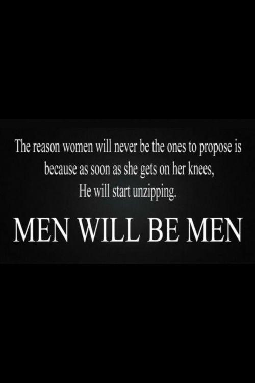 men will be men hahaha