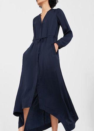 Asymmetric hem dress -  Woman | MANGO United Kingdom