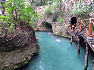 Xcaret Eco Theme Park in Cancun has a ton of family friendly activities and attractions. One of our favorite places to visit.