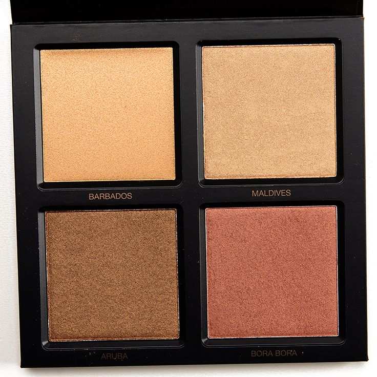 Huda Beauty Bronze Sands 3D Highlighter Palette Review, Photos, Swatches