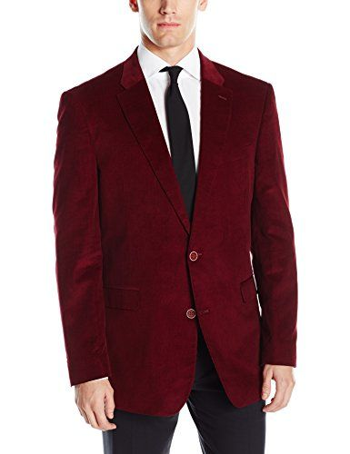 Tommy Hilfiger Men's Willow Fine Cord 2 Button Sport Coat