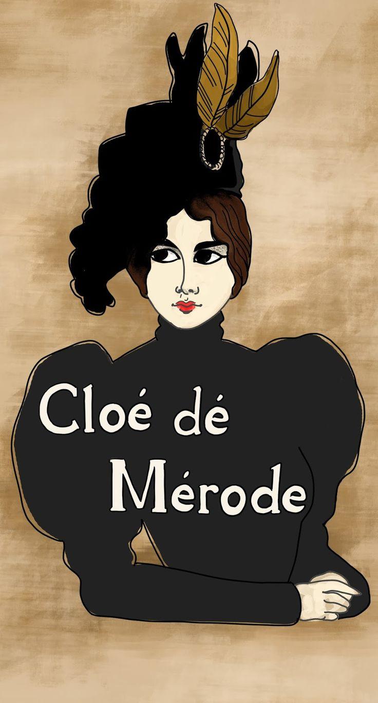 Cloé de Mérode - artbydeedeecomics.blogspot.com