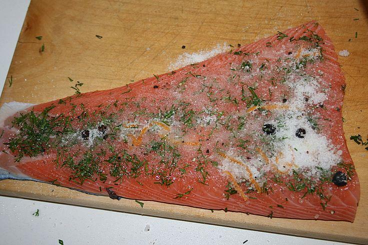 Graved Lachs oder gebeizter Lachs (Rezept mit Bild) | Chefkoch.de