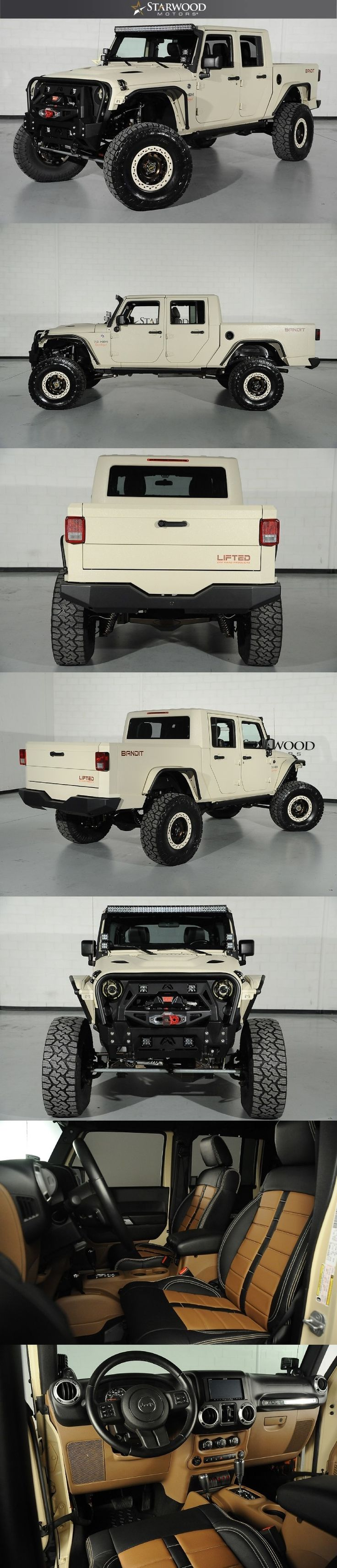 Starwood Motors Bandit Jeep.... if only.