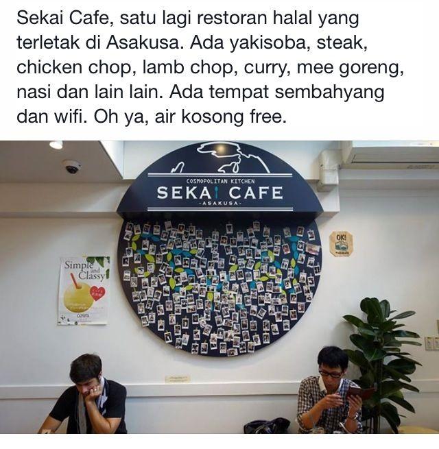 Japan kedai makan halal
