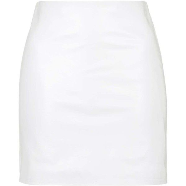 25  best ideas about White leather skirt on Pinterest | Leather ...