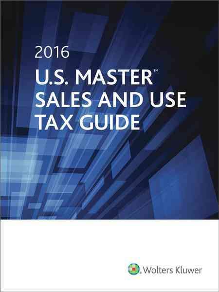 U.s. Master Sales & Use Tax Guide 2016