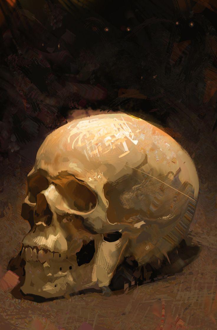 ArtStation - Skull study, Bartlomiej Gawel