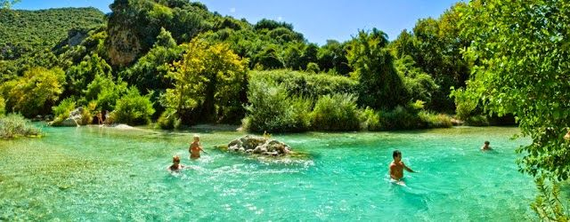 Acherontas river and its springs, a paradise on earth.