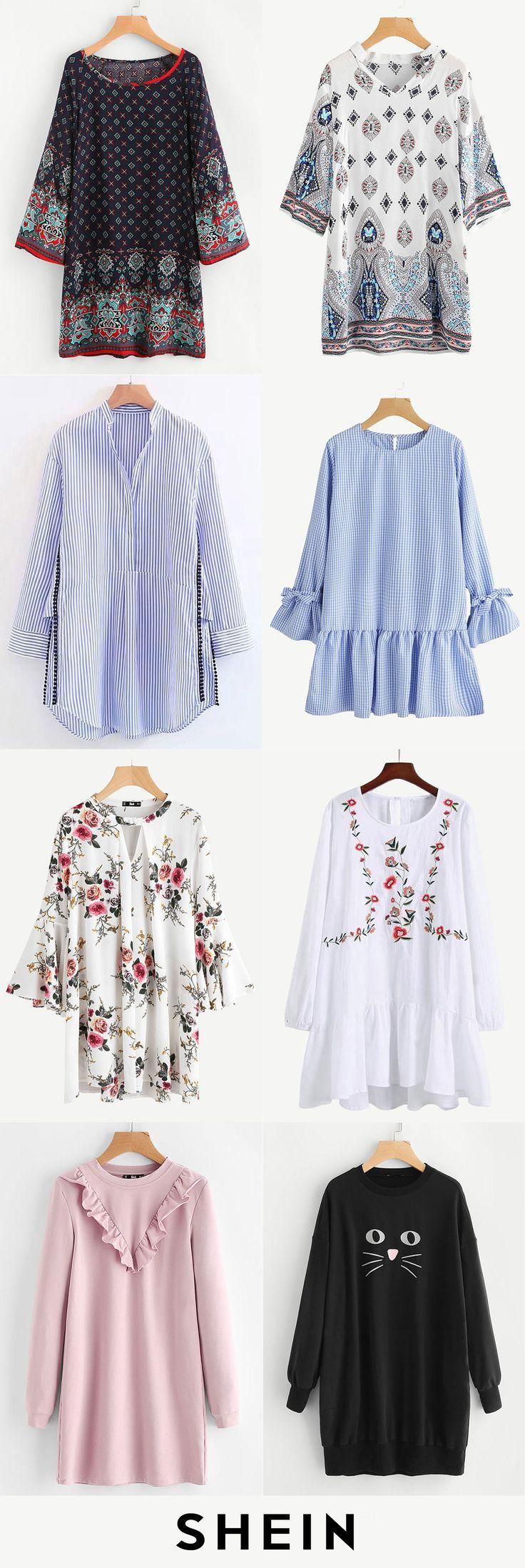 Long sleeve dresses