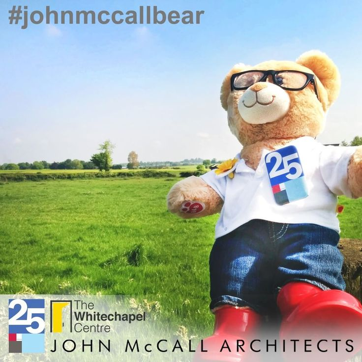 #JohnMcCallBear visits Ireland to celebrate JMA 25 year anniversary and raise money for the whitechapel centre