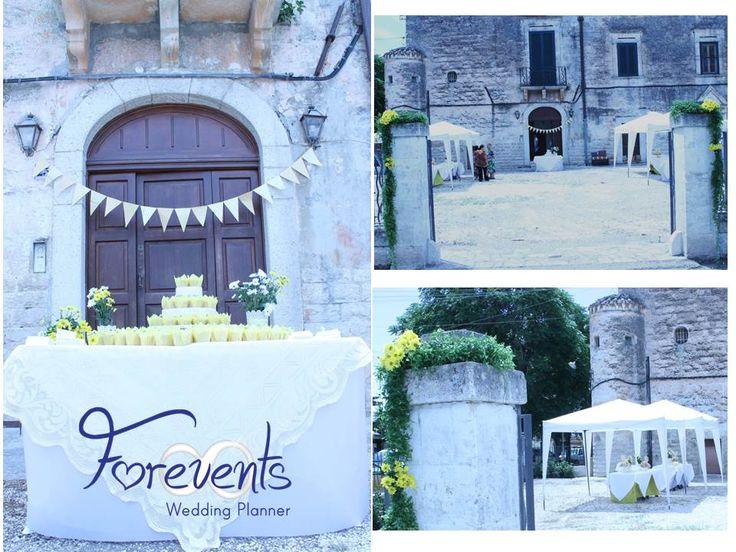 Nozze in Puglia: il #buffet in giardino