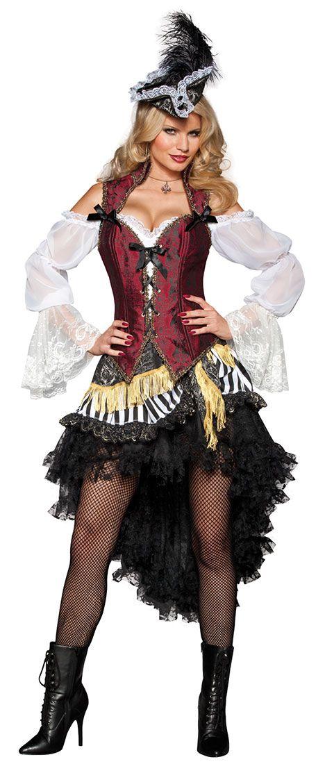 High Seas Treasure Adult Costume