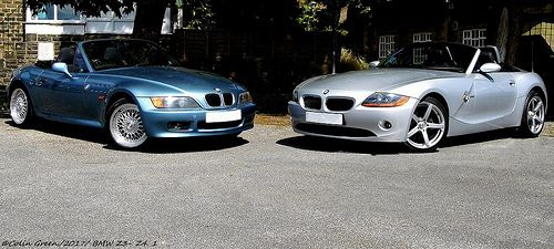 Colin Green Photography: BMW Z3 and Z4.