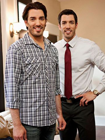 Easy decorating tips from HGTV hosts Jonathan and Drew Scott.