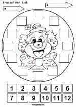 Clowsklok maken - Hoe laat begint de voorstelling?
