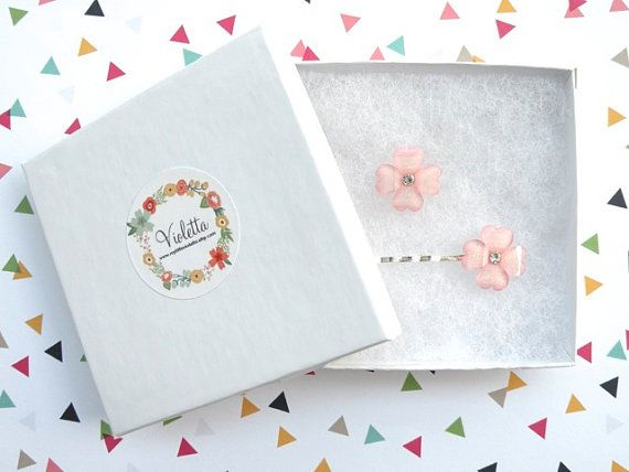 Gift Set ~Four-Leaf Clover Hair Pin and Ring ~