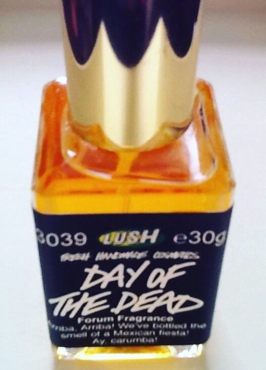 Lush Day of The Dead Perfume Forum Edition Brand New Bottle   eBay