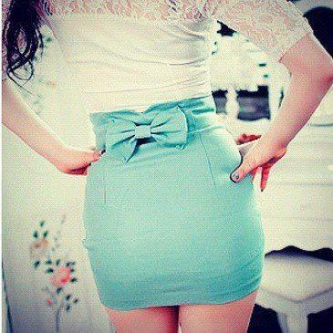 Azul con blanco <3
