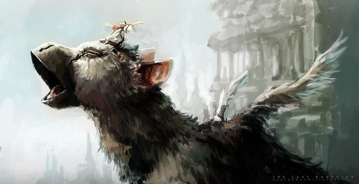 The real question for everyone who wants to draw Trico: is it a beak or a snoot??!