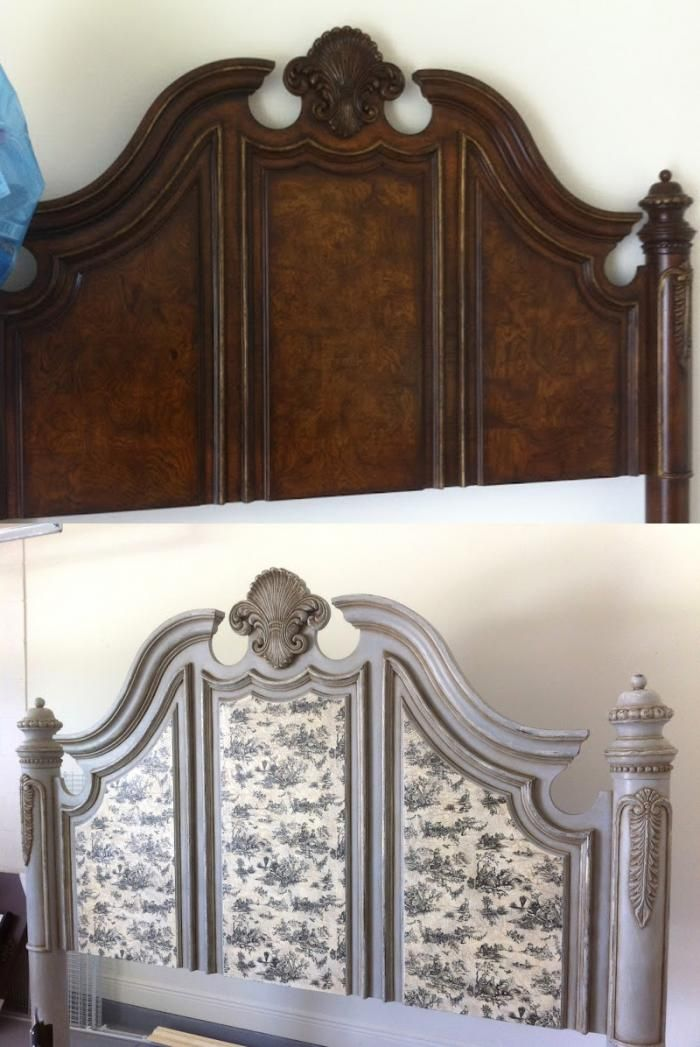 Best 20 headboard redo ideas on pinterest refinished for Painted on headboard