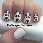 Cute enough to cuddle! :)    Watch The Video Tutorial @ http://www.polishpedia.com/panda-bear-nail-art.html