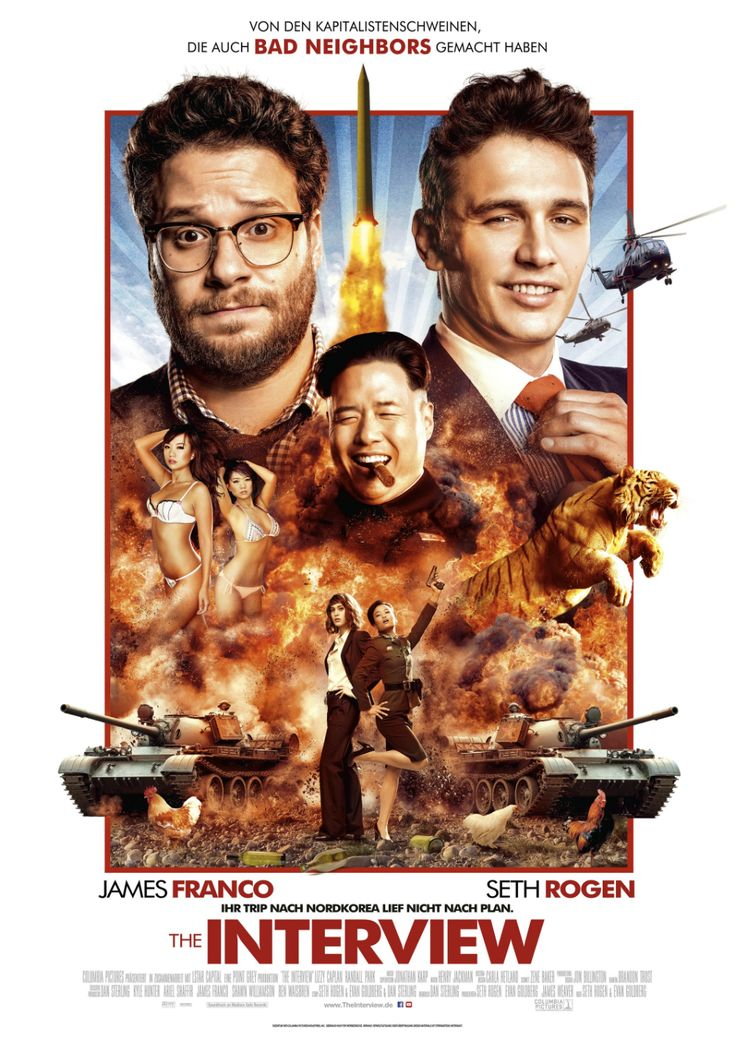 The Interview Poster Gallery Free movies online