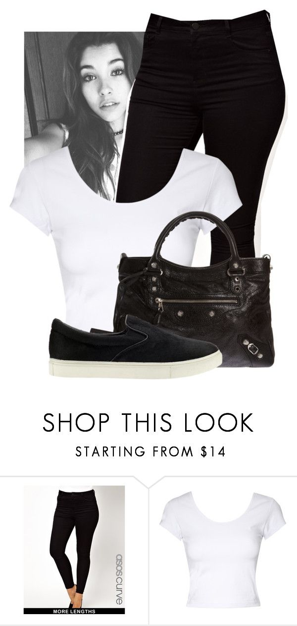 """Unbreakable ✘ Madison Beer"" by shermeacka ❤ liked on Polyvore featuring ASOS, Jane Norman, Balenciaga, Steve Madden, women's clothing, women's fashion, women, female, woman and misses"