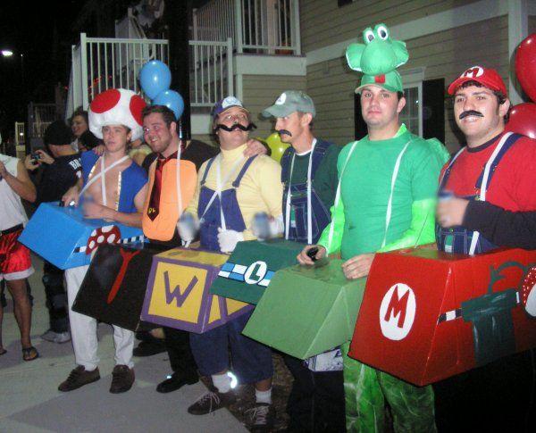 best Halloween group costumes: mario kart cast