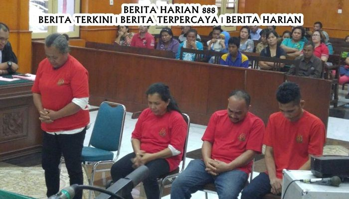 Wanita Tega Menewaskan 4 Orang Anak