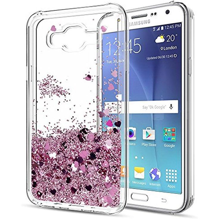 J7 Case,Galaxy With HD Screen Protector For Girls Women,LeYi Glitter Shiny Cute #Doesnotapply