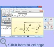 MathType is a powerful interactive equation editor for Windows and Macintosh that lets you create mathematical notation for word processing, web pages, desktop publishing, presentations, elearning, and for TeX, LaTeX, and MathML documents
