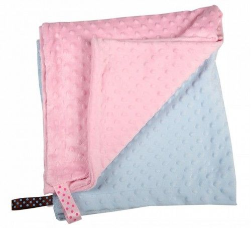 The double-sided Little Lumps blankets are an ideal way to keep baby warm. The minky blanket is very soft with a raised dot detail on it. They are available in pink,blue and white.Size : 75 x 75 cm. #littlelumps #baby #southafrica