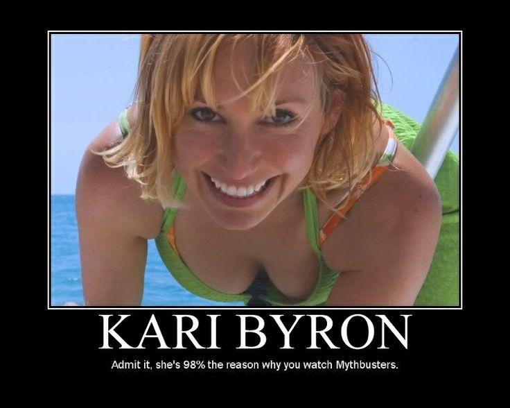 Reason To Watch Mythbusters  Kari Byron, Hot College -9091