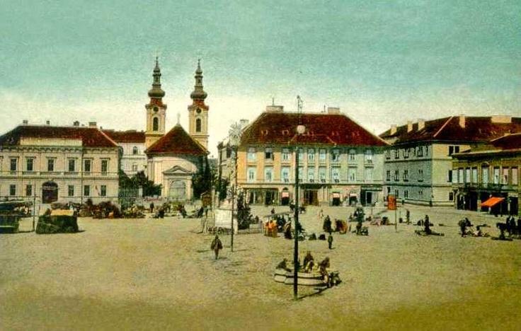Timisoara - 1905 - Piaţa Unirii