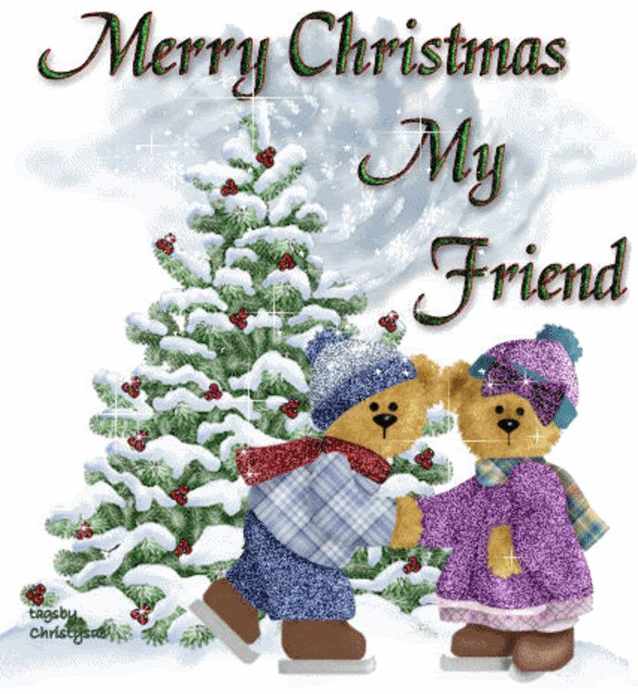 Image result for Hope you're having a lovely christmas my friend gifs