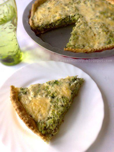 Mirabelkowy blog: Tarta brokułowa