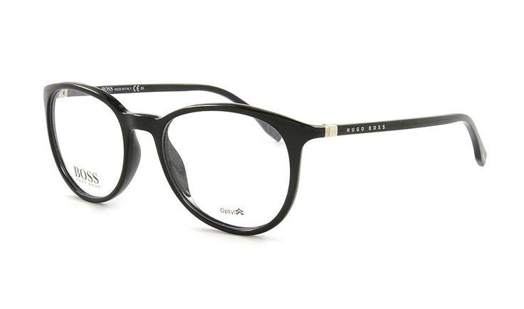 Hugo Boss 714 D28 52 Schwarz im Brillen Shop von Brille Kaulard.